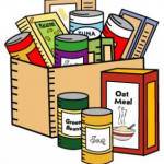 Picture of food pantry items